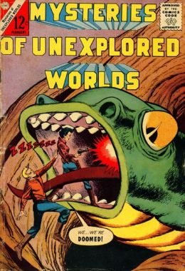 Mysteries of Unexplored Worlds Number 34 Fantasy Comic Book