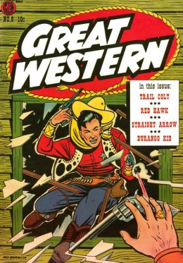 Great Western Number 8 Western Comic Book