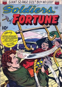 Soldiers Of Fortune Number 1 War Comic Book