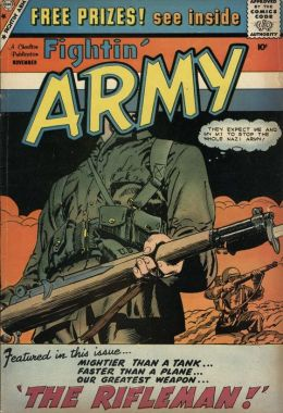 Fightin Army Number 32 War Comic Book