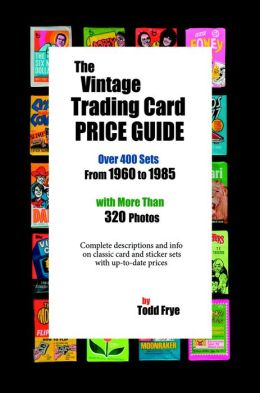 The Vintage Trading Card Price Guide