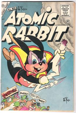 Atomic Rabbit Number 3 Childrens Comic Book