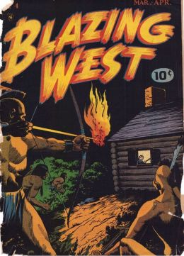 Blazing West Number 4 Western Comic Book