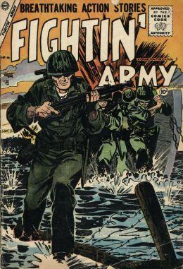 Fightin Army Number 16 War Comic Book