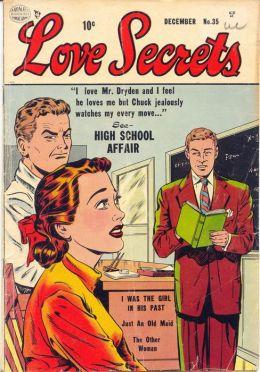 Love Secrets Number 35 Love Comic Book