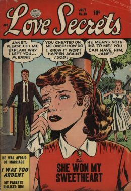 Love Secrets Number 39 Love Comic Book