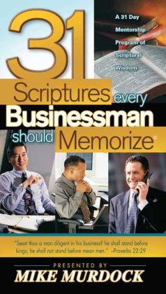 31 Scriptures Every Businessman Should Memorize