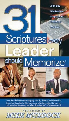 31 Scriptures Every Leader Should Memorize