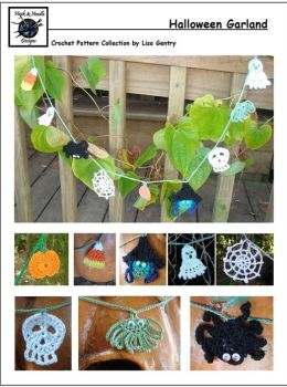 Halloween Garland - Crochet Pattern