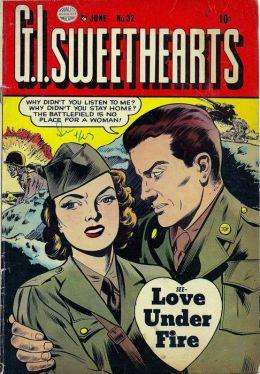 GI Sweethearts Number 32 Love Comic Book