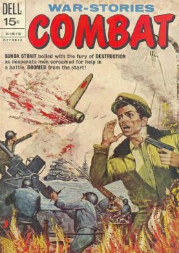 Combat Number 33 War Comic Book