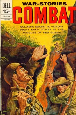 Combat Number 34 War Comic Book