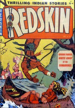 Redskin Number 12 Western Comic Book
