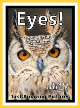 Just Eye Photos! Big Book of Photographs & Pictures of Eyes, Vol. 1