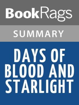 Days of Blood and Starlight by Laini Taylor l Summary & Study Guide
