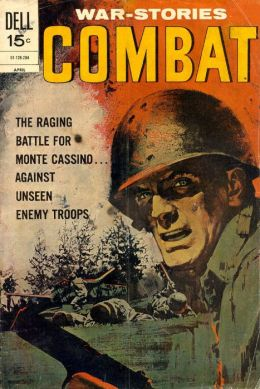 Combat Number 35 War Comic Book