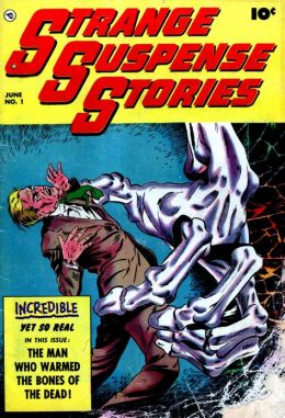 Strange Suspense Stories Number 1 Horror Comic Book