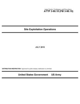 Army Tactics, Techniques, and Procedures ATTP 3-90.15 (FM 3-90.15) Site Exploitation Operations