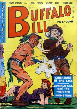 Buffalo Bill Number 6 Western Comic Book