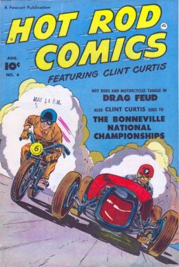 Hot Rod Comics Number 4 Car Comic Book