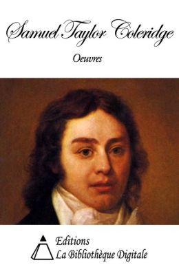 Oeuvres de Samuel Taylor Coleridge