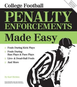 College Football Penalty Enforcements Made Easy