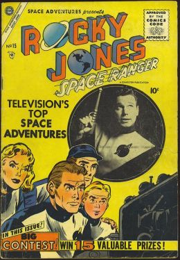 Space Adventures Number 15 Science Fiction Comic Book