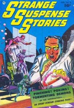 Strange Suspense Stories Number 2 Horror Comic Book