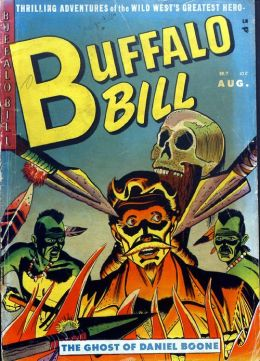 Buffalo Bill Number 7 Western Comic Book