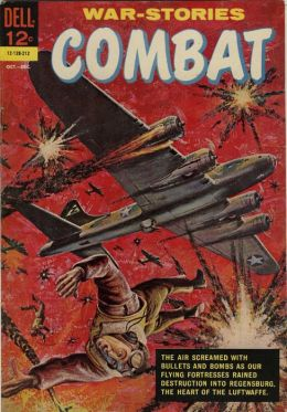 Combat Number 6 War Comic Book