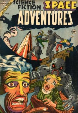 Space Adventures Number 10 Science Fiction Comic Book
