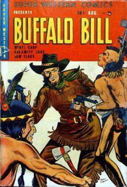 Super Western Number 1 Western Comic Book