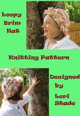 Loopy Brim Hat Knitting Pattern