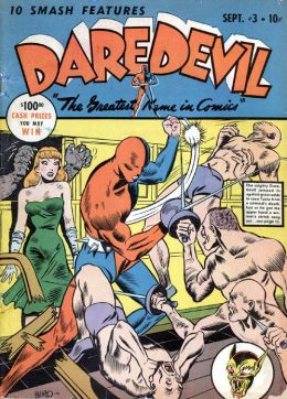 Daredevil Comics Number 3 Super-Hero Comic Book