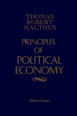 Principles of Political Economy.