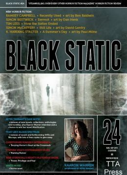 Black Static #24 Horror Magazine