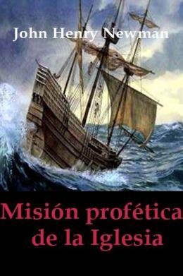 Misión profética de la Iglesia