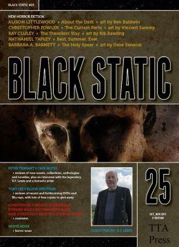 Black Static #25 Horror Magazine