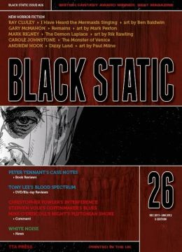 Black Static #26 Horror Magazine