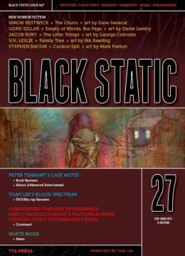 Black Static #27 Horror Magazine