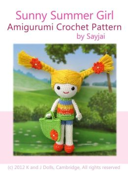 Sunny Summer Girl Amigurumi Crochet Pattern