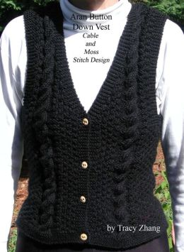Aran Vest Knitting Pattern : Internal Server Error