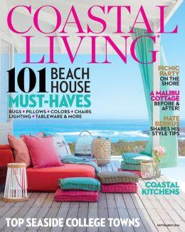 Coastal Living Magazine - September 2014