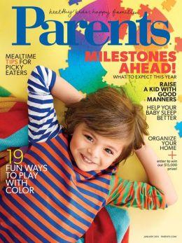 Parents Magazine - January 2015