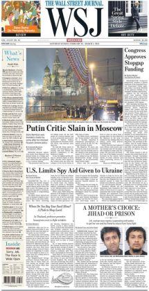 Wall Street Journal - 02/28/15