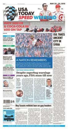 USA Today - 05/22/15