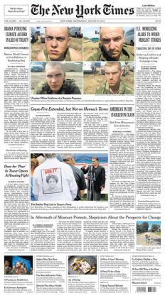 New York Times - 08/27/14