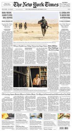 New York Times - 09/17/14