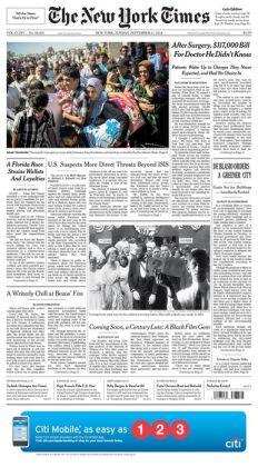 New York Times - 09/21/14