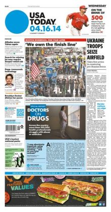 USA Today - 04/16/14